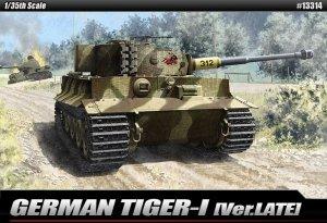 Academy 13314 GERMAN TIGER I Ver.LATE (1:35)