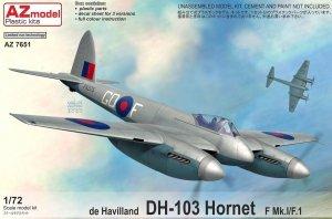 AZ Model AZ7651 DH-103 Hornet F Mk.I/F.1 1/72