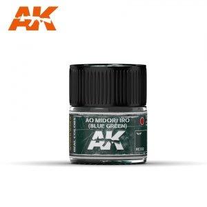 AK Interactive RC332 AO MIDORI IRO (BLUE-GREEN) 10ML