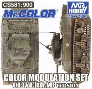 Gunze Sangyo CS-581 - Color Modulation Set Olive Drab