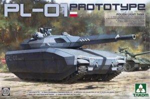 Takom 2127 PL-01 Polish Light Tank Prototype 1/35