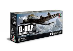 Italeri 445AP D-Day Allies Aircraft Painting 6x20ml