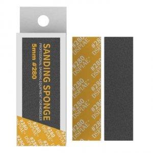 DSPIAE SS5-280 5mm #280 SANDING SPONGE 5 PCS / Gąbka do szlifowania