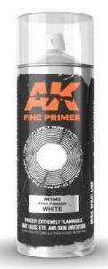 AK Interactive AK 1042 Fine Primer WHITE Spray 200 ml.