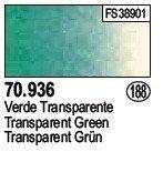 Vallejo 70936 Transparent Green (188)
