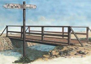 Mirage Hobby 35220 Wooden bridge (1:35)