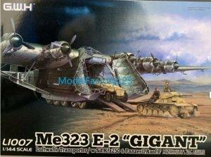 Great Wall Hobby L1007 Me323 E-2 Gigant Luftwaffe Transporter / w Sd.Kfz250 & PanzerIIAusfF  1/144