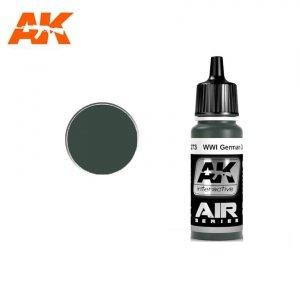 AK Interactive AK 2273 WWI GERMAN DARK GREEN 17ml