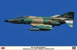 Hasegawa 07490 RF-4E Phantom II 501SQ Final Year 2020 (Forest Camouflage) 1/48