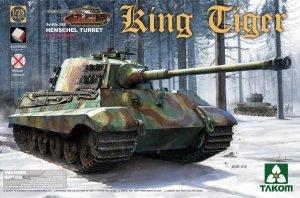 Takom 2073S King Tiger Sd.Kfz.182 HENSCHEL TURRET / Full Interior w/new track 1/35