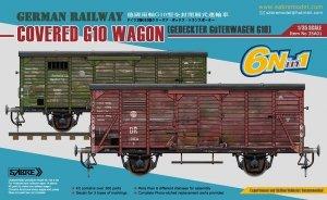 Sabre 35A01 German Railway G10 covered wagon 1/35