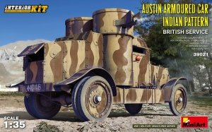 Miniart 39021 AUSTIN ARMOURED CAR INDIAN PATTERN. BRITISH SERVICE. INTERIOR KIT 1/35