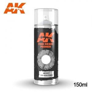 AK Interactive AK 1017 FINE RESIN PRIMER SPRAY 150ml