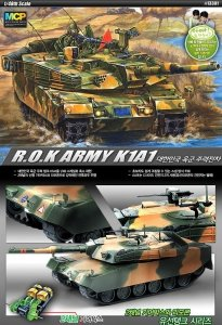Academy 13301 K1A1 ROK Army z napędem 1/48