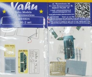 Yahu YMS4804  Mil Mi-2 set 1/48