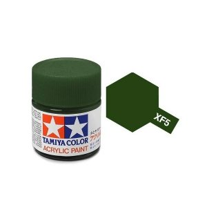 Tamiya 81305 Acryl XF-5 Flat Green 23ml