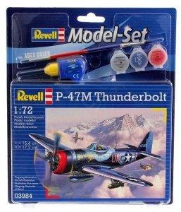 Revell 63984 Model Set P-47M Thunderbolt (1:72)