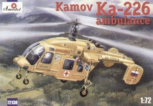 A-Model 72130 Kamov Ka-226 Russian Ambulance helicopter 1:72