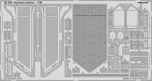Eduard 36428 Hummel exterior 1/35 TAMIYA