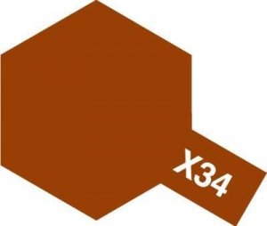 Tamiya X-34 Metallic Brown (81534) Acrylic paint 10ml