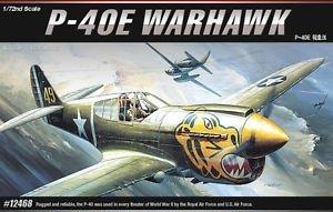 Academy 12468 P-40E Warhawk 1/72