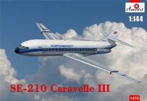 A-Model 01478 Se Aviation Caravelle III 1:144
