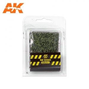 AK Interactive AK 8157 OAK SUMMER LEAVES 28MM  1/72
