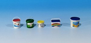 EUREKA XXL E-052 Plastic containers for paint 1/35