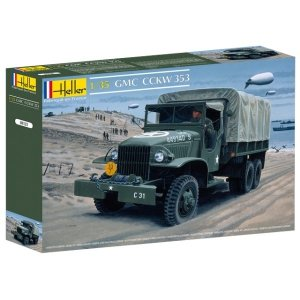 Heller 81121 GMC CCKW 353 1/35