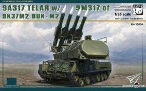 Panda Hobby 35034 9A317 TELAR w/9M317 of 9K37M2 BUK M2 ( METAL TRACK ) 1/35