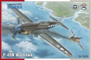 Special Hobby 72374 P-40N Warhawk 1/72