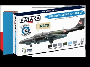 Hataka Hobby HTK-BS46 Polish Navy / Air Force TS-11 Paint Set (6x17ml)