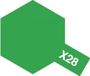 Tamiya X-28 Park Green (81528) Acrylic paint 10ml