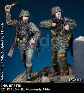 RADO Miniatures RDM35041 Feuer Frei 12.SS Pz.DiV. HJ Normandy 1944 1/35
