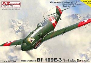 AZ Model AZ7664 Messerschmitt Bf.109E-3 Swiss Air Force 1/72