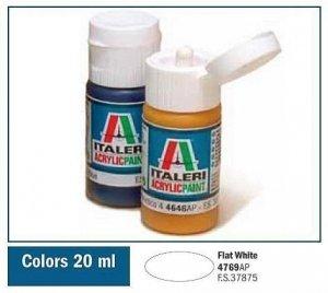 Italeri 4769 FLAT WHITE 20ml