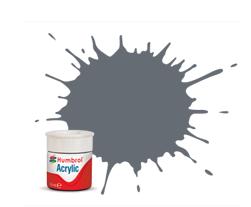Humbrol AB0123 123 Extra Dark Sea Grey Satin Acrylic Paint 14ml