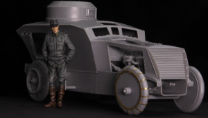 Copper State Models F35-015 Austro-Hungarian Armoured Car Officer 1/35