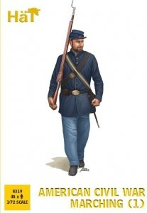 Hat 8319 American Civil War Marching 1/72