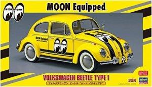 Hasegawa 20357 Volkswagen Beetle Type 1 Moon Equipped 1:24