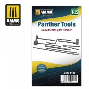 Ammo of Mig 8133 Panther Tools 1/35