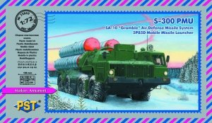 "PST 72055 S-300PMU (SA-10 ""Grumble"") Air Defense System 5P85D 1/72"