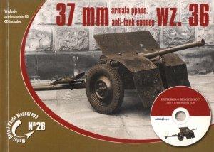 Rossagraph Model Detail Photo Monograph No. 28 - 37mm Anti-tank cannon wz.36 (with CD) PL/EN