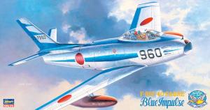 Hasegawa PT15 F-86F-40 Sabre 'Blue Impulse' 1/48