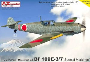 "AZ Model AZ7676 Bf 109E-3/7 ""Special Markings"" 1/72"