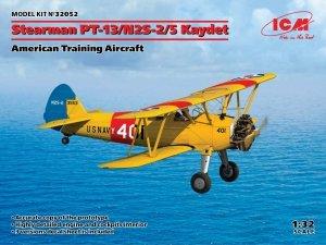 ICM 32052 Stearman PT-13/N2S-2/5 Kaydet 1/32