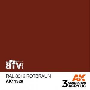 AK-Interactive AK 11328 RAL 8012 Rotbraun 17ml