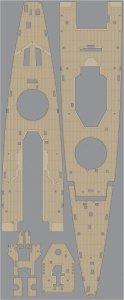 Pontos 35019WD1 DKM Admiral Graf Spee Wooden Deck set (1:350)