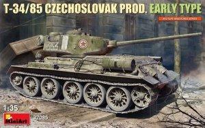 MiniArt 37085 T-34/85 CZECHOSLOVAK PROD. EARLY TYPE 1/35
