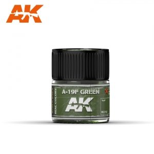 AK Interactive RC312 A-19F GRASS GREEN 10ML